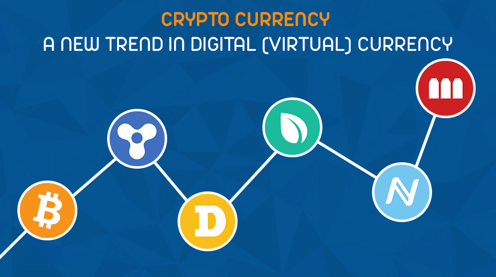 Crypto-currency-A-new-trend-in-digital-virtual-currency